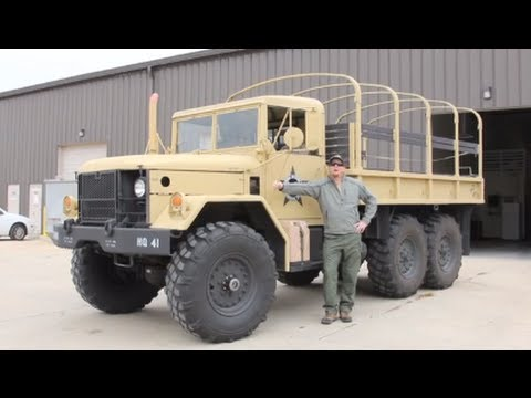 1968 M35a2 Deuce and a Half Walk Around. Startup and Ride!