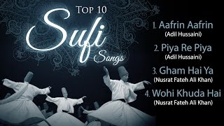 Top 10 Sufi Songs - Afreen Afreen - Hindi Romantic Songs - Musical Maestros