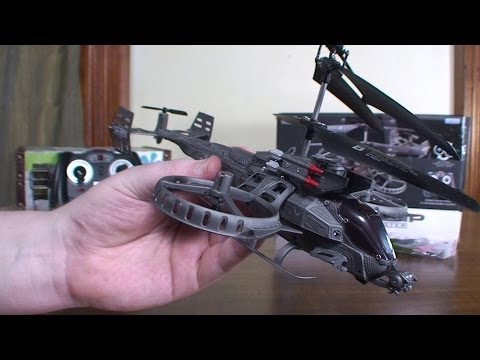 JH 4ch Gunship (JunHeng J6683) (Avatar Scorpion Gunship) - Review and Flight