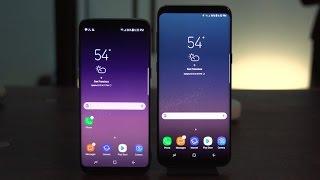 Samsung Galaxy S8 vs. Galaxy S8 Plus: ¿Cuáles son las diferencias?