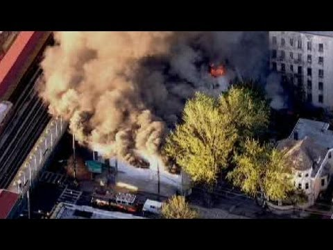 New York 5-ALARM FIRE - 