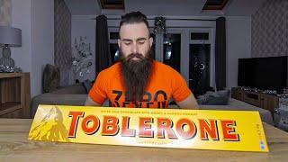 The Biggest Chocolate Bar I've Ever Seen (24,000 Calorie Toblerone Challenge) | BeardMeatsFoode