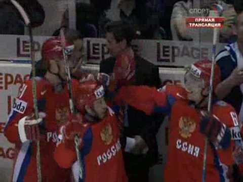 Россия-Швеция (ЧМ-2008) - Шайба Овечкина