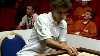 1.Carrom Black Slam by Pierre Dubois on Eurosport2, World Carrom Tour 2009