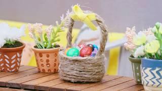 Building a Tiny Basket | Tiny M&M'S MINIS Home