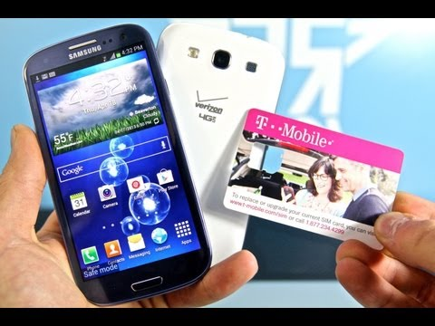 How To Factory Unlock Samsung Galaxy S3 - AT&T SGH-i747. T-Mobile SGH