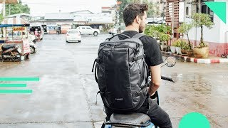 Timbuk2 Wander Pack Review | One Bag Travel Backpack With Great Organization But Some Harness Issues