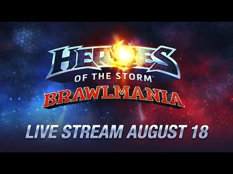 Heroes Of The Storm: #Brawlmania - EN Cast By Tetcher | Day 1