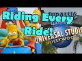 Attempting to Ride Every Attraction at Universal Studios Hollywood 2020!