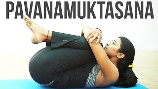 How to do Pavanamuktasana
