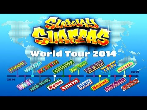 Subway Surfers World Tour 2014