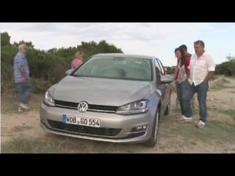 2014 Volkswagen Golf Mk7 / Тест-драйв
