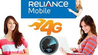 Reliance 4G CDMA migrated sim to GSM speedtest. Fluctuated results inside