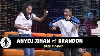BATTLE DANCE: ANYEU JIHAN VS BRANDON IMB | HITAM PUTIH (07/05/18) 2-4