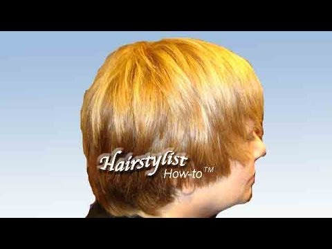 "Short Layered Haircut, Pixie-cut ""Hair Tutorial"" Razored and Textured"