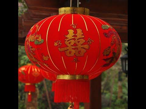 Поделка из китайских фонариков 423