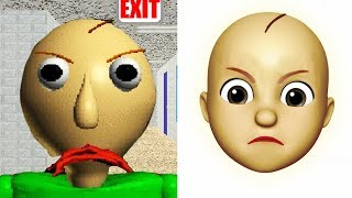 Baldi Becomes An Emoji | iOS Memoji