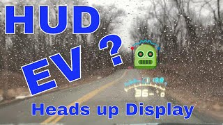 HUD Heads Up Display on an Electric car ?!