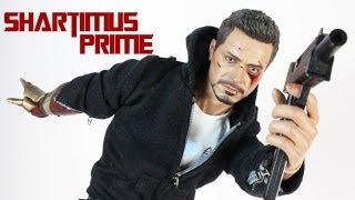 Hot Toys Tony Stark The Mechanic Iron Man 3 Movie Masterpiece MMS209 Figure Review
