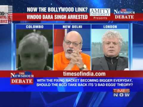 The Newshour Debate: Will Bollywood Links, how big can the IPL Scandal get? (The Full Debate)