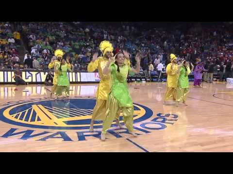 Bhangra Empire  NBA Halftime Show (Warriors vs. Knicks) 2013