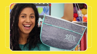 How to Install Grommets in Handbags Tutorial by Crafty Gemini