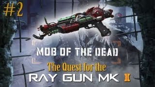BO2 Zombies: Mob of the Dead - The Quest for the Ray Gun Mark II (Part 2)
