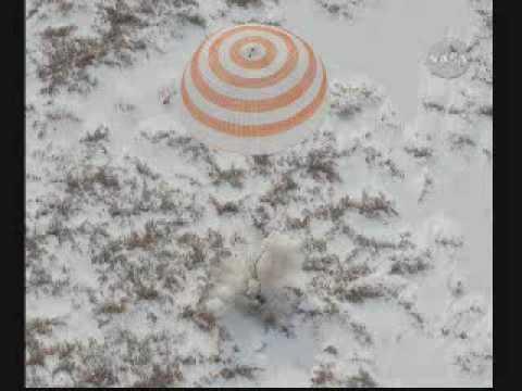 Soyuz TMA-16 Landed