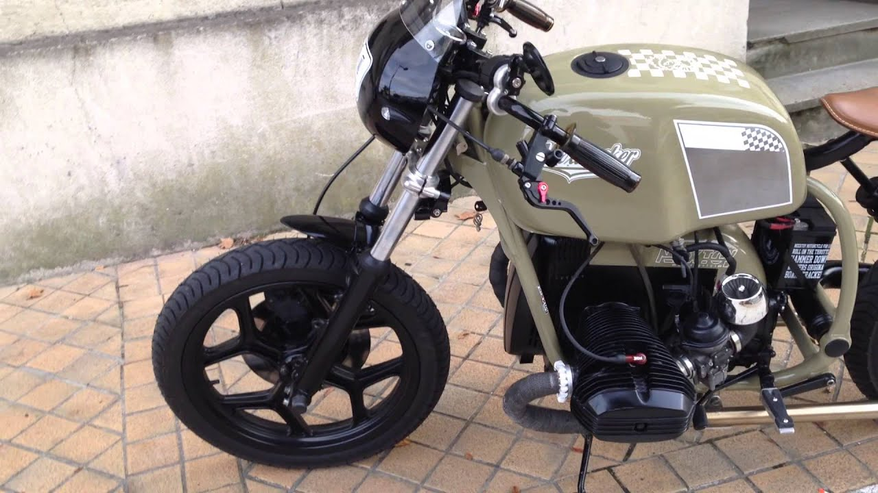 Boucle Arriere Cafe Racer Bmw
