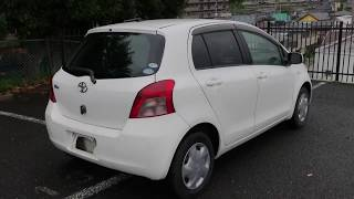 2005 Toyota Vitz White Color | SecondHand Car