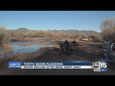 Tonto Basin flooding