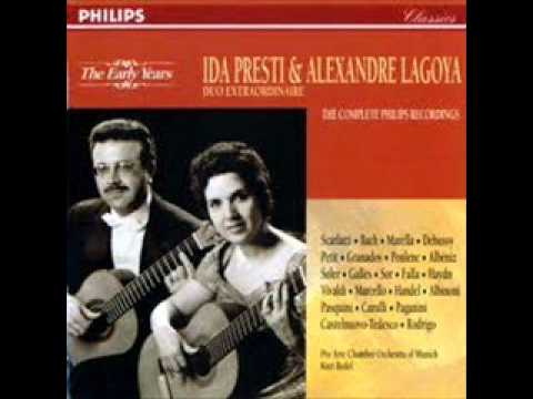George Frideric Handel Chaconne in G (Ida Presti&A. Lagoya)