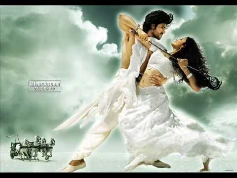 Panchadara Bomma Bomma -- Magadheera Song video