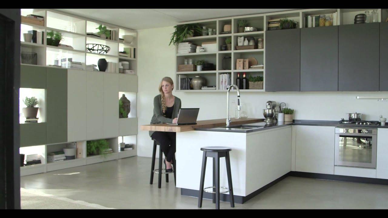 Vittore niolu presenta il progetto motus per cucina e living youtube - Living e cucina ...