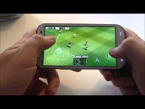 Konami PES 2012 Samsung Galaxy S3 Gameplay HD video