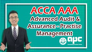 ACCA P7 Online Course Advanced Audit & Assurance- Practise Management