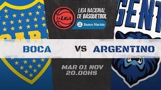 Liga Nacional: Boca vs Argentino   LaLigaEnTyC