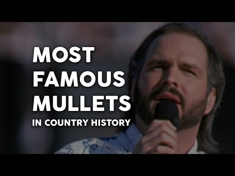 Famous Mullets Of Country Music video