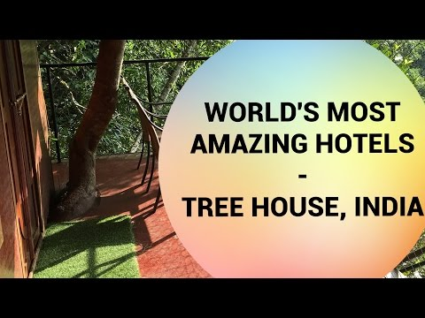 Amazing Hotels | Vythiri Resort Tree House in Wayanad, Kerala, India