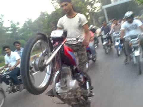 asad ki bike pe game