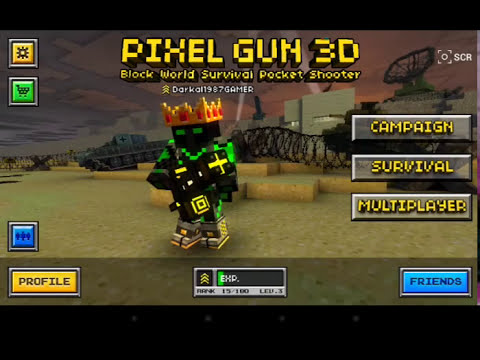 Hackear Pixel Gun 3D Ultima Version 2014