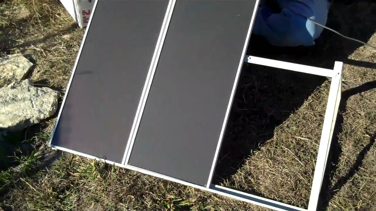 Assembly and Testing our Harbor Freight 45 Watt Solar