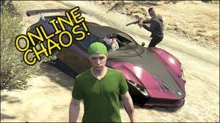 GTA 5 ONLINE CHAOS! W/ DownRangeGaming