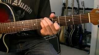 Gustavo Cerati  Cactus  Guitar Tutorial Cover HD