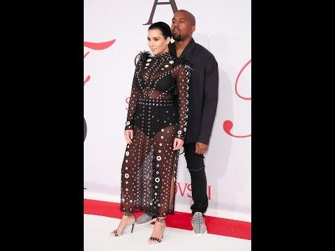 2015 CFDA Fashion Awards - Kim Kardashian West Presents Media Award to Instagram