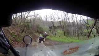 Honda Pioneer 500 rolls on it