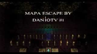 DanioTV - Mapa Escape By DanioTV #1 | Minecraft 1.4.5/1.4.6/1.4.7