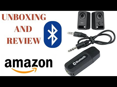 Bluetooth Audio Receiver - Unboxing and Review | Turn Your Speaker Wireless