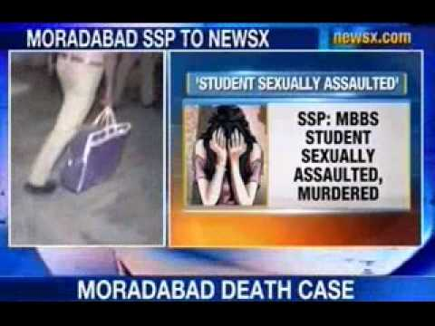 NewsX: Moradabad girl sexually assaulted and murdered