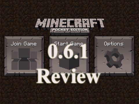 Minecraft Pocket Edition 0.6.1 Review - iPad / iPhone / iPod Touch
